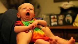 Newborn baby recognizes Moms voice and becomes instantly alert