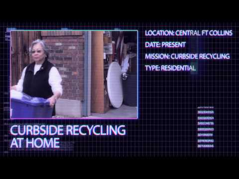 view Top Secret PSA on recycling by the City of Fort Collins video