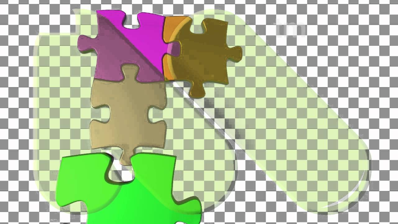 Jigsaw Puzzle Pieces Coming Together Colorful Jigsaw Puzzle Coming