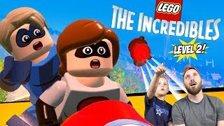 LEGO The Incredibles Gameplay for Nintendo Switch Part 2!