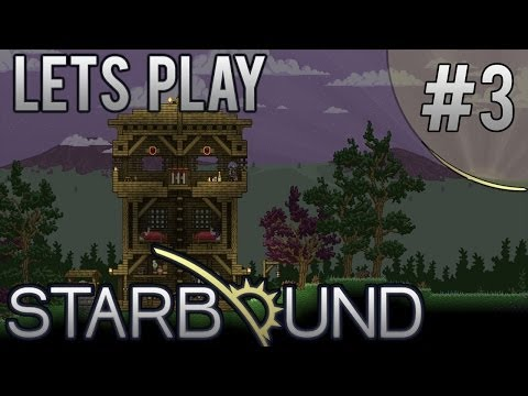 Let's Play Starbound | Traveling To A New Galaxy | Ep. 3