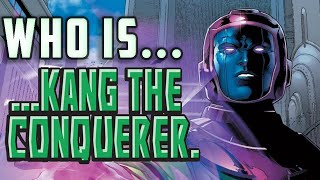 History and Origin of Marvel's KANG THE CONQUEROR!