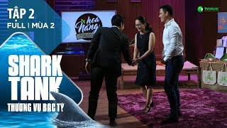 Startup Nông Sản Hữu Cơ Bất Ngờ Nhận Đầu Tư 10 Tỷ | Shark Tank Việt Nam Tập 2 | Mùa 2 [Official]
