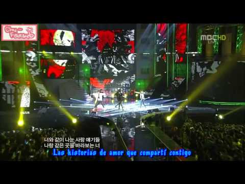 [subs Español] Shinee - Lucifer (live Moyag 20111231) video