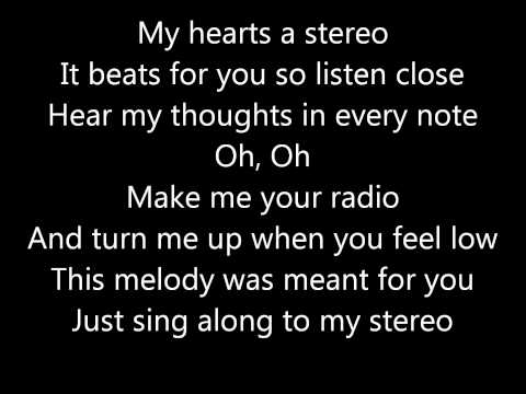 Jason Chen - My Hearts A Stereo - Lyrics video