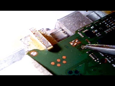 Sim IC removing and jumpering