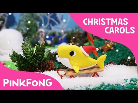 Clay Christmas Sharks | Christmas Carols | Baby Shark | Pinkfong Songs for Children