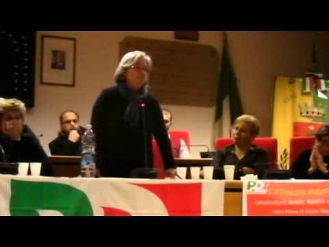Gioia: l'intervento di Rosy Bindi
