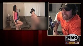 Is Dieter the guy behind the mask in a ballbusting video?
