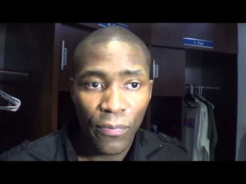 LA CLIPPERS vs PACERS: JAMAL CRAWFORD COMMENTS - GARY G. - IVNEWS