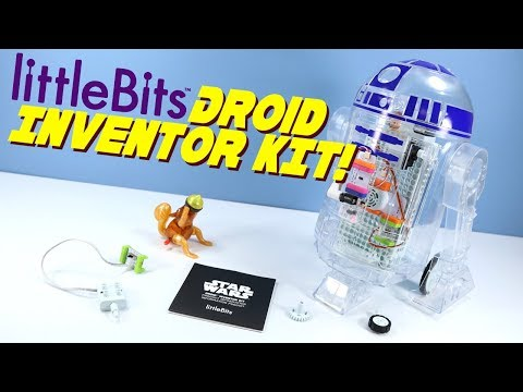 LittleBits Star Wars Droid Inventor Kit Toy Opening Build & Review