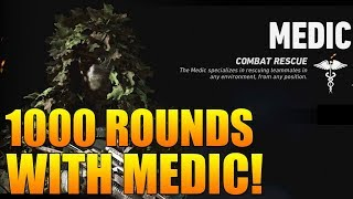 1000 Rounds with Medic - Ghost Recon Wildlands PVP (Ghost War Medic Compilation)