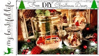 DIY Christmas Free DIY Decorating