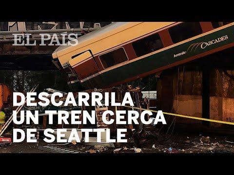 Accidente de tren cerca de Seattle, en vivo y en directo| Internacional