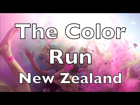 Alice in New Zealand #17 The Color Run