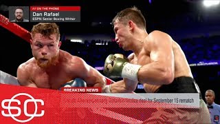 Canelo Alvarez and Gennady Golovkin will fight again after 'Hail Mary' deal | SportsCenter | ESPN
