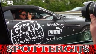 Chasing the GUMBALL 3000 2011 from Calais to Paris!