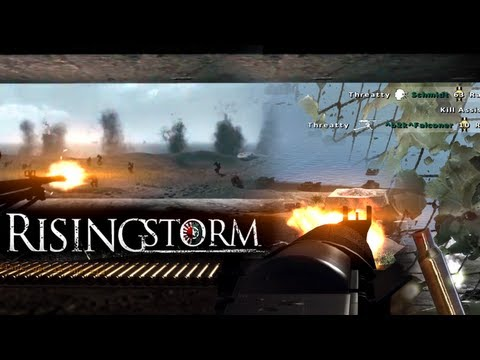 Rising Storm: Iwo Jima Machine Gun Defense - 23 Kill Streak Image 1