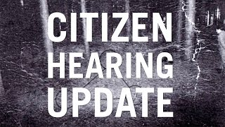 BENTWATERS UFO CASE UPDATE - CITIZEN HEARING