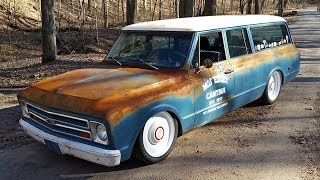1972 Chevrolet C10 Suburban Rat Rod / Hot Rod Build Project