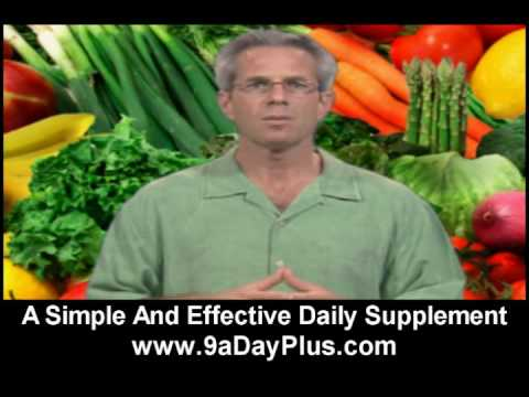 Health Food Vitamin Supplements - 9 A Day Plus