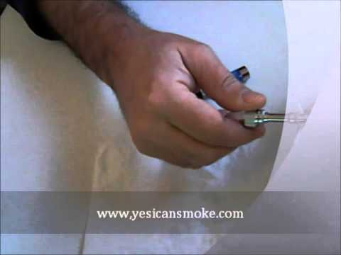 How to clean the  atomizer on the electronic cigarette ego ce5