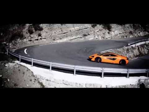 McLaren 570S TV Advert - extended version with sports exhaust full V8 sound