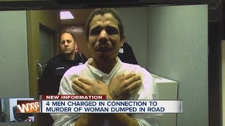 video 4 men charged in connection to murder of woman dumped in road ◂ WXYZ 7 Action News is metro Detroit's leading source for breaking news, weather warnings, award-winning investigative...
