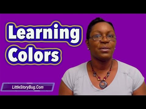 Preschool Activity - Learning Colors - LittleStoryBug