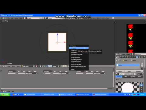 Blender Game Engine Tutorial - 2D Sprites