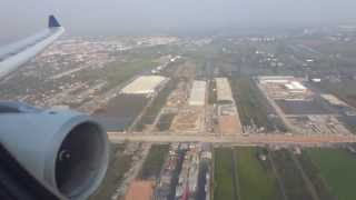 SQ976: Landing in Bangkok RWY19R with Singapore Airlines A330-300 9V-STM