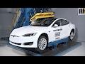 Hydraulic Press vs Tesla Model S