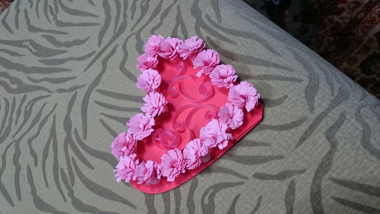 DIY Quilled Valentine