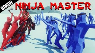 NINJA MASTER, New Unit - Totally Accurate Battle Simulator