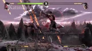 Mortal Kombat 9 all laugh attack Kano