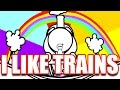 Видео Train I LIKE TRAINS (asdfmovie song)