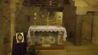 In the Footsteps of Jesus Annunciation House Maria Archangel Gabriel