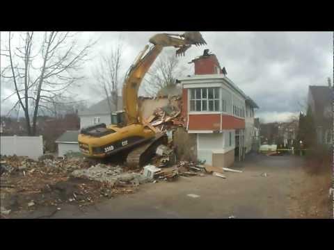 No Room For Error on Upland St Demolition