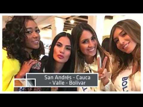 Quien será Miss Colombia 2017 - Conoce a todas las candidatas.