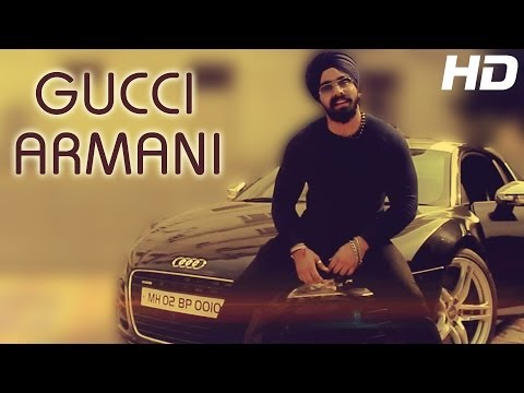 New Punjabi Club Song - GUCCI ARMANI - Simranjeet Singh Ft....