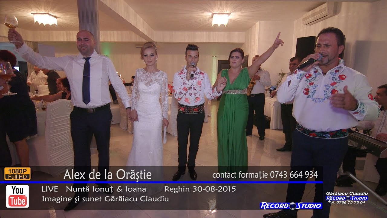 Alex de la Orastie - Cetera-i inima me' Colaje LIVE Nunta Ionut & Ioana 30-08-2015