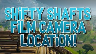 Fortnite Shifty Shafts Film Camera Location!!
