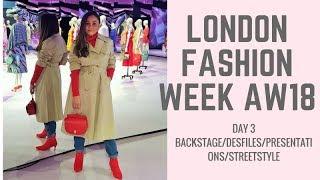 SEMANA DE MODA LONDRES INVERNO 2018-LONDON FASHION WEEK