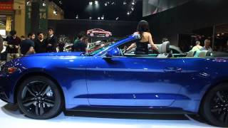 Ford Mustang 2015 Istanbul autoshow
