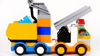 Learn Colors with Building Blocks Playset for Kids