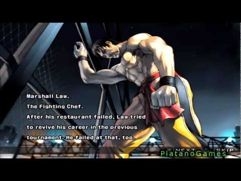 Marshall Law - Tekken 5 Prologue & Epilogue - Hd video