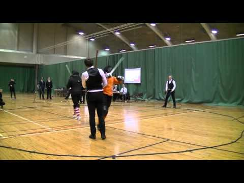 Helsinki Longsword Open 2016 - Men's longsword eliminations quarter finals