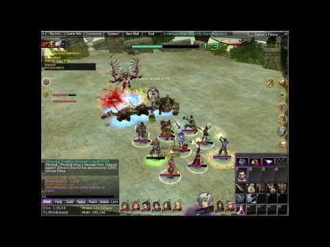 [AO] Solo Boss - Tiamat (Hanging Gardens of Babylon) Video