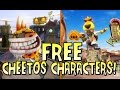 FREE Cheetos Characters for Everyone! - Plants vs Zombies: Garden Warfare | StrangeLuv
