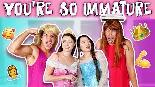 You're So Immature! *BOYS VS GIRLS* pt 2